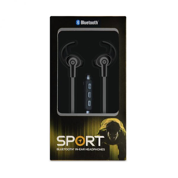 Black Sport Headphones