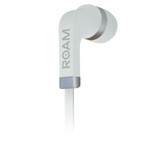 Roam Headphones Colour In-ear White