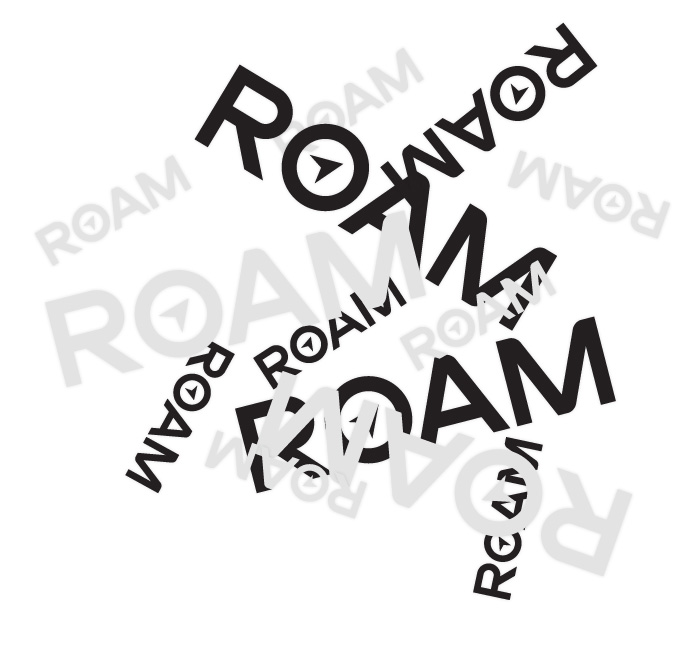 Roam Decals