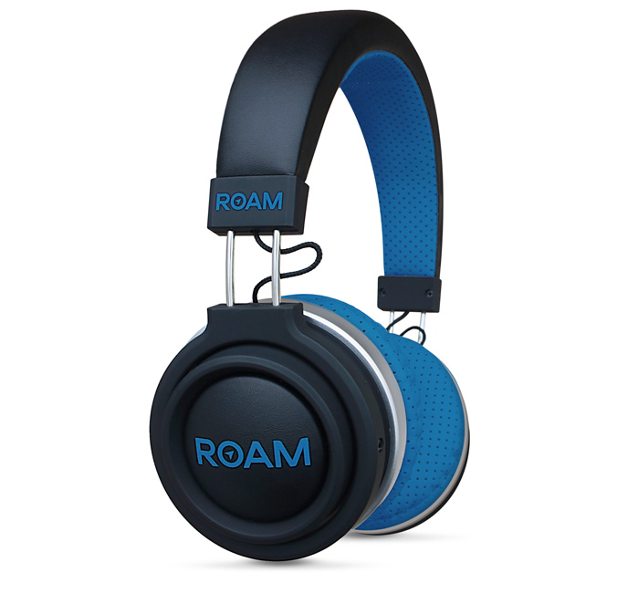 Roam Headphones Sport On-ear Blue